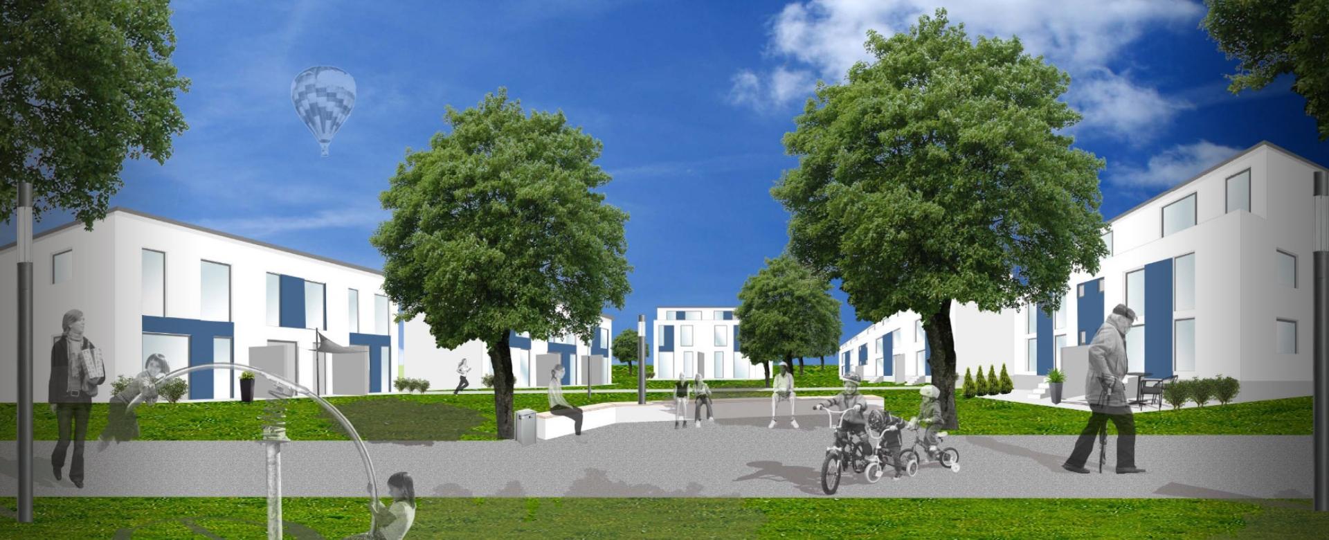 Städtebaulicher Wettbewerb Quartiersentwicklung Mühlenkamp